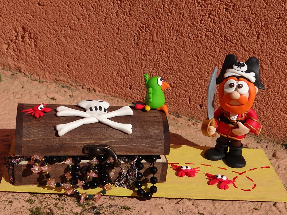 ceramica polimerica pirata